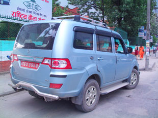 Vehicle Hire in Nepal